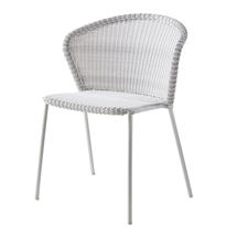 Lean Chair - White