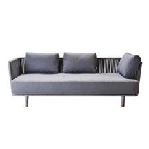 Moments Outdoor 3 Seat Lounge Sofa - Grey