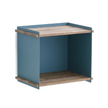 Box Wall Shelf - Aqua