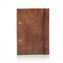 Create Your Own Leather Garden Notebook