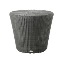 Kingston Large Sidetable/Footstool - Graphite