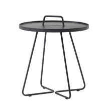 On-the-move side table large - Black