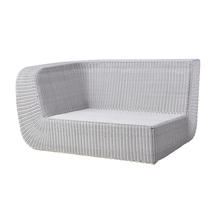 Savannah 2 Seat Sofa Right Module - White/Grey