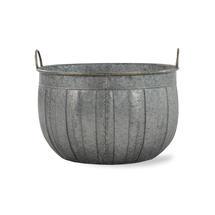Galvanised Wash Tub Planter - 28.5cm
