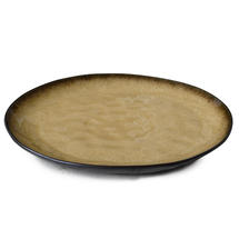 Pure Medium Round Plate - Green