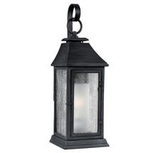 Shepherd Weathered Zinc Wall Lantern-Medium