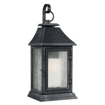 Shepherd Weathered Zinc Wall Lantern-Extra Large