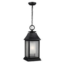 Shepherd Weathered Zinc Hanging Lantern