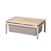 Conic Box Table - Taupe