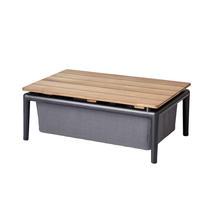 Conic Box Table - Lava Grey