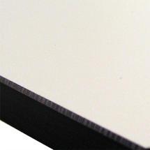 Edge Extending Table - White HPL Top 210/330x100cm