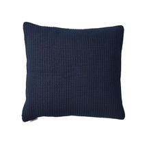 Divine scatter cushion, 50x50x12 cm - Midnight blue
