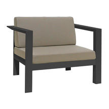 Manhattan Armchair Charcoal