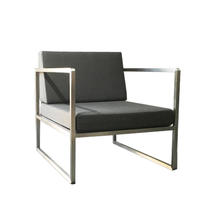 Seattle Armchair Stainless Steel
