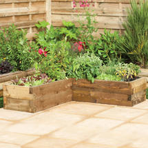 Caledonian Raised Corner Bed