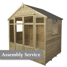 Oakley Summerhouse 7'X 5' with assembly service