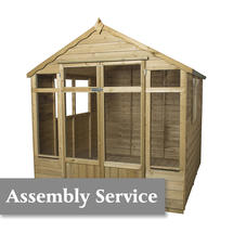 Oakley Summerhouse 7'X 7' with asssembly service