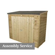 Compact Storage Maxi Store Pressure Treated with assembly service