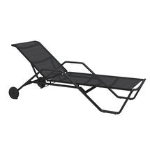 180 Stacking Lounger with Arms - Meteor / Anthracite Sling