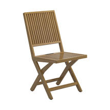 Voyager Folding Chair in Buffed Teak