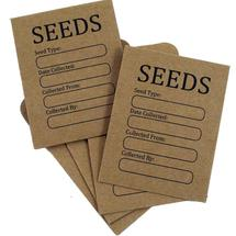 Seed Storage Envelopes - pack of 20