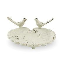 Cast Iron Bird Dish