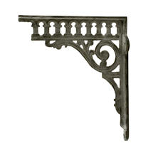 Victorian Styled Cast Iron Wall Bracket
