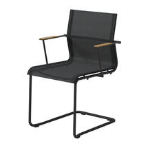 Sway Meteor Stacking Armchair - Anthracite Sling