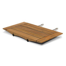 Ocean Teak Extension Leaf - Slatted Top