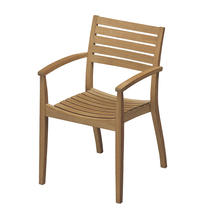 Ballare Teak Stacking Chair