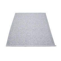 Svea 140 x 220cm Rug - Grey Metallic / Grey