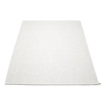 Svea 180 x 260cm Rug - White Metallic / White