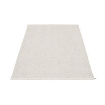 Svea 140 x 220cm Rug - White Metallic / White