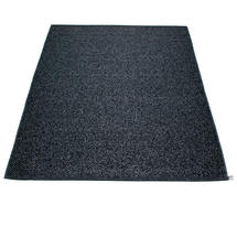 Svea 180 x 260cm Rug - Black Metallic / Black