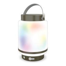 Doji Outdoor LED Lantern - Dark Grey