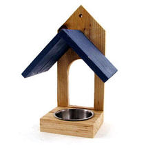 Window Bird Feeder - Blue