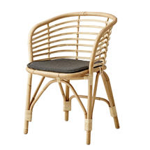 Blend Indoor Chair with cushion - Rattan