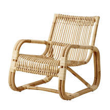 Curve lounge chair INDOOR - Natural
