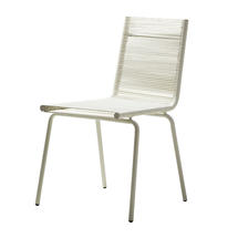 Sidd Stackable Chair with out Arms - White