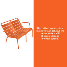 Luxembourg Low Armchair Duo - Carrot