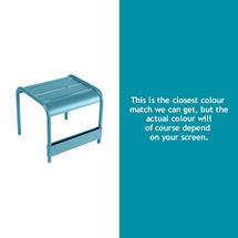 Luxembourg Low Table Small - Turquoise