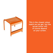 Luxembourg Low Table Small - Carrot