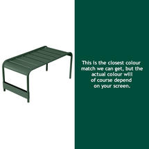Luxembourg Low Table Large - Cedar Green
