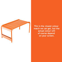 Luxembourg Low Table Large - Carrot