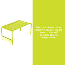 Luxembourg Low Table Large - Verbena Green