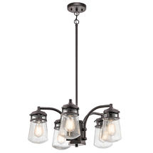Lyndon Outdoor Chandelier 5Lt