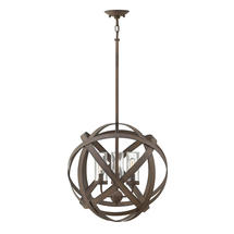 Carson 3 Light Outdoor Chandelier - Medium