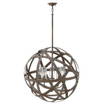 Carson 5 Light Outdoor Chandelier - Large