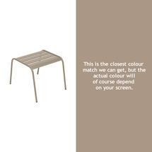 Monceau Low Table / Footrest - Nutmeg