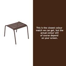 Monceau Low Table / Footrest - Russet